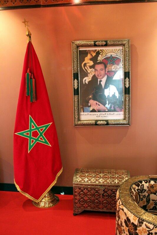 Представительский зал выставки Марокко