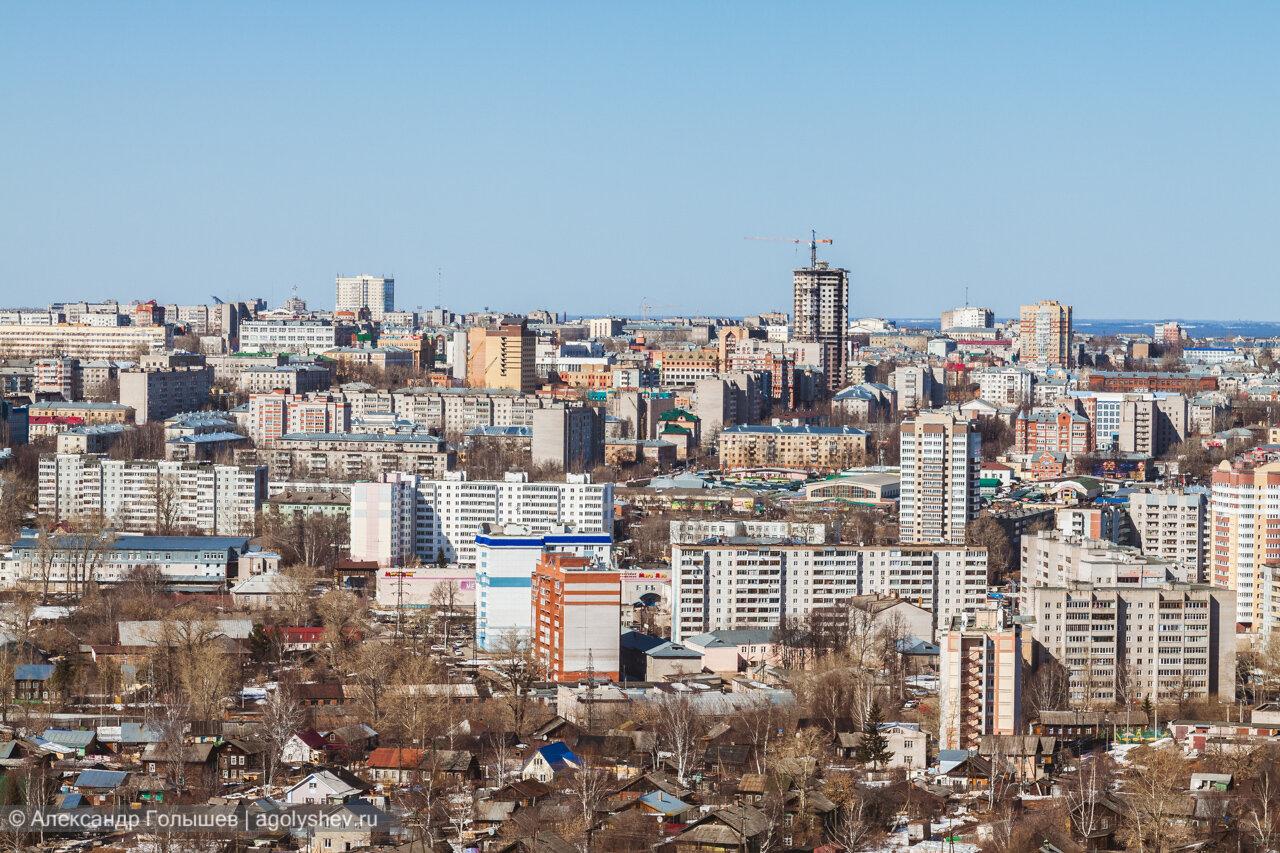 Прогулки по крышам Кирова