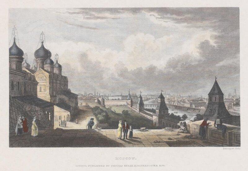 Неизвестный художник. Гравер - Сэмюэл Дэвенпорт (1783-1867)