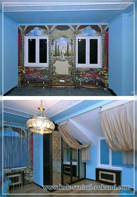 комната - восточный стиль