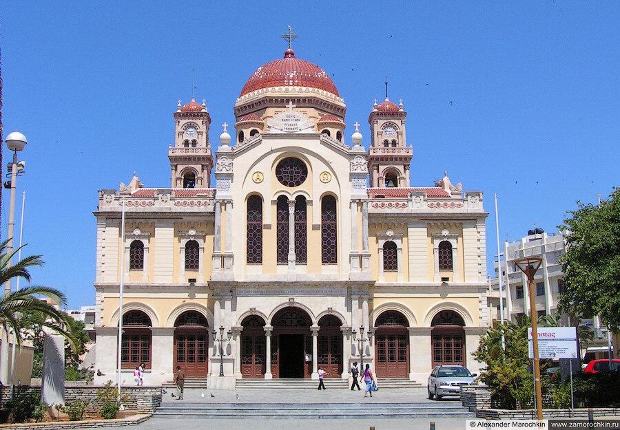 Собор Святого Мины в Ираклионе | St. Minas Cathedral in Heraklion