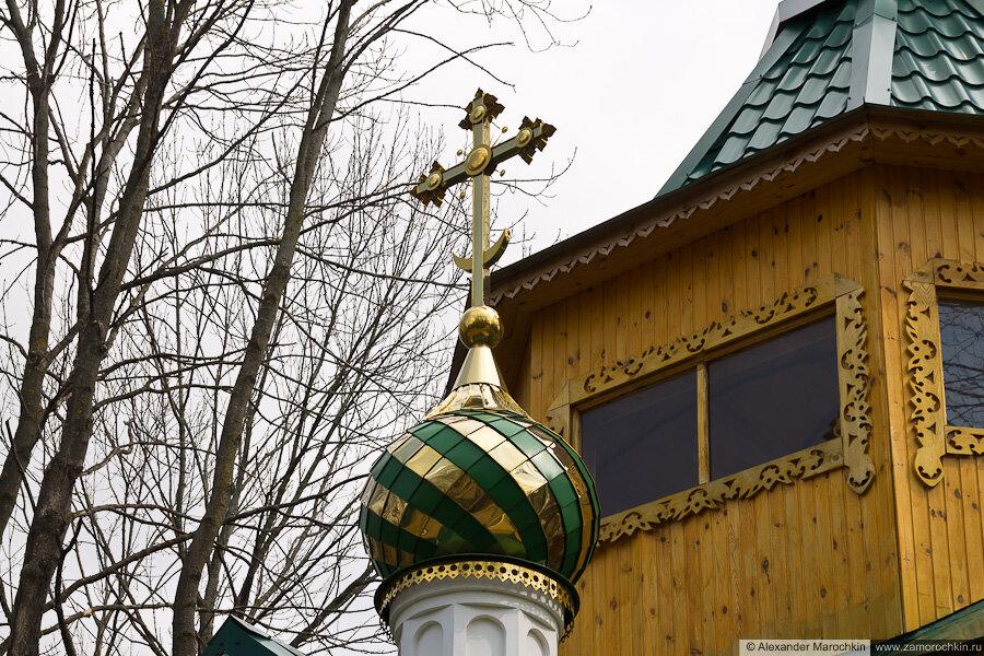 Фрагмент церкви преподобного Феодора Санаксарского в Макаровском монастыре Саранск