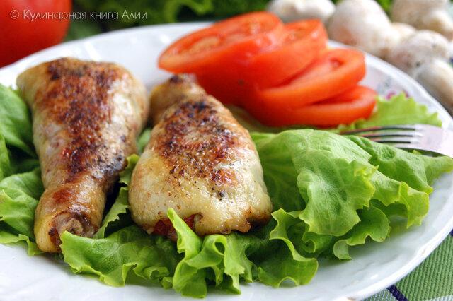 Котлеты мясные с гарниром рецепт с пошагово