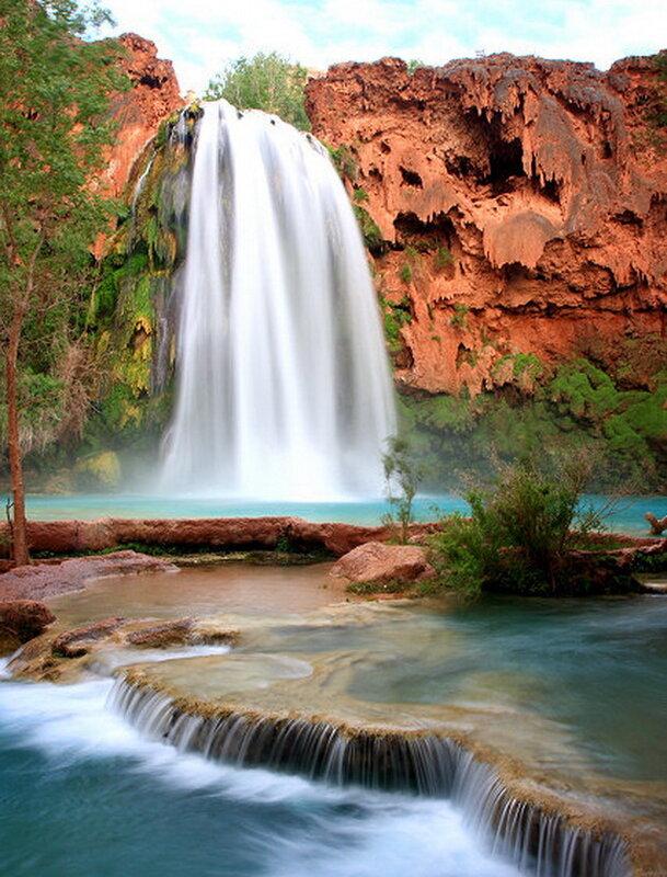 Водопад хавасу сша