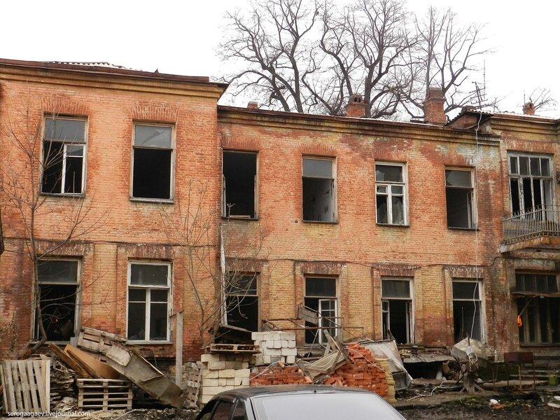Дом для престарелых и увечныхНа улице Кирова, 31 (бывшая Московская)