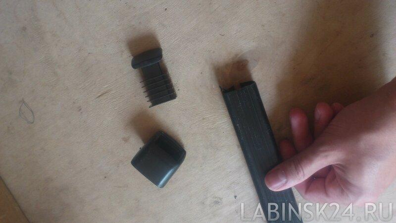 Заглушки для дуг багажника