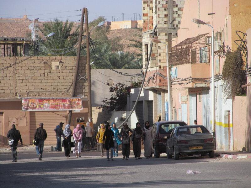 Алжир. Люди. Гардая