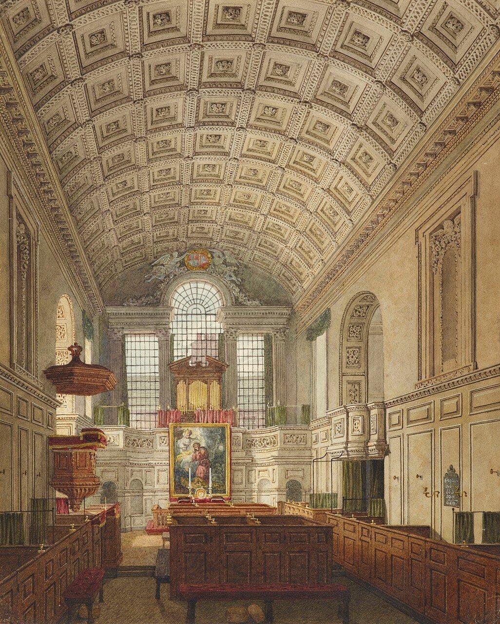 The German Chapel, St James's Palace.