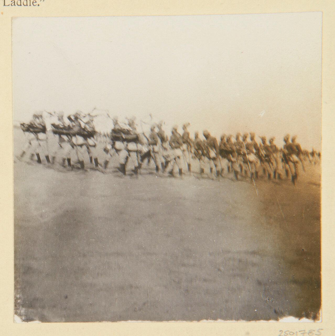 Вад Хамид. Лагерь 4-го Египетского батальона
