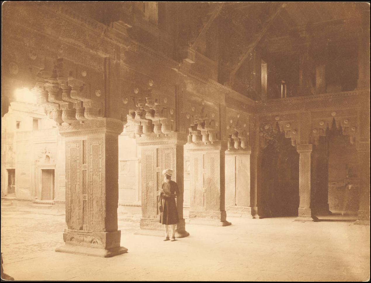 Агра. Индуистская мечеть Дворца
