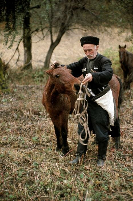 Один из старейших людей в мире. Кавказ