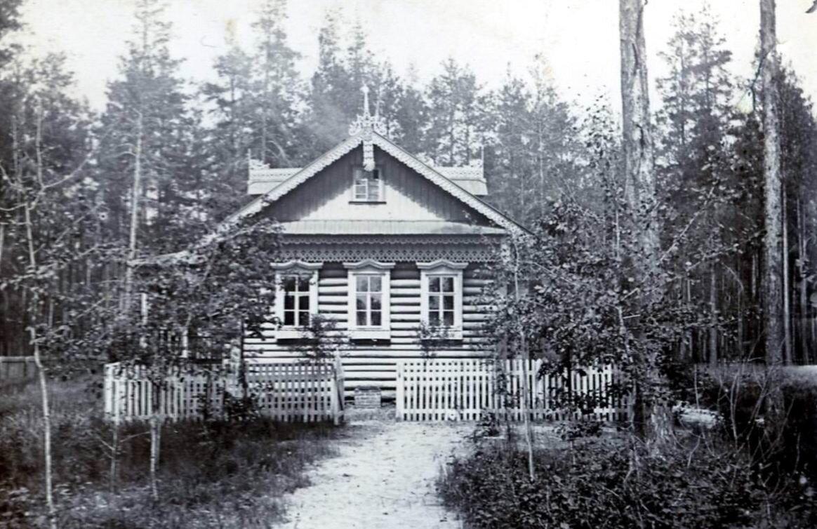 Дча Кузнецовых в деревне Черное Нижегородской губернии