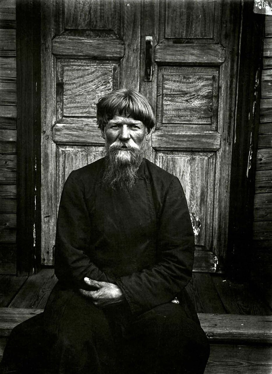 Настоятель молельни поморцев в Семеновском уезде. 1897 г.