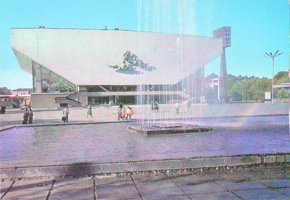 Иркутск. Дворец спорта. 1988 год.