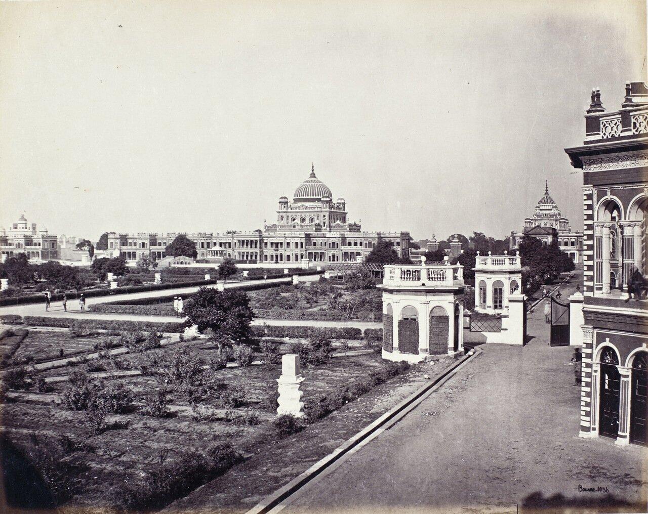 Панорама дворца Касар Бах.1864 г.