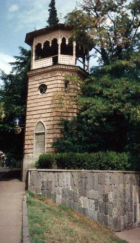 Закаблуцкая Елена, башня у дворца наместника Кавказа в царское время