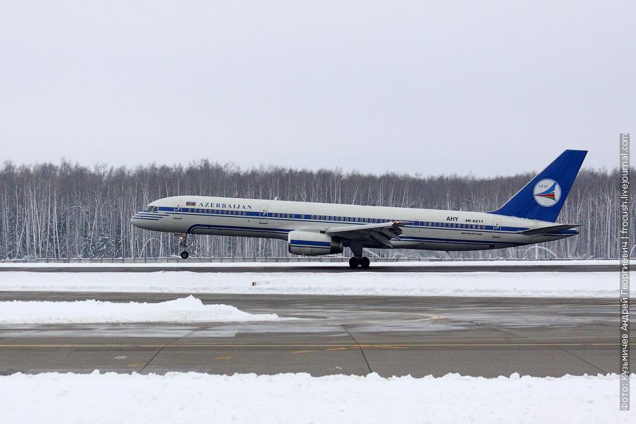 Boeing 757-22L (4K-AZ11) Azerbaijan Airlines