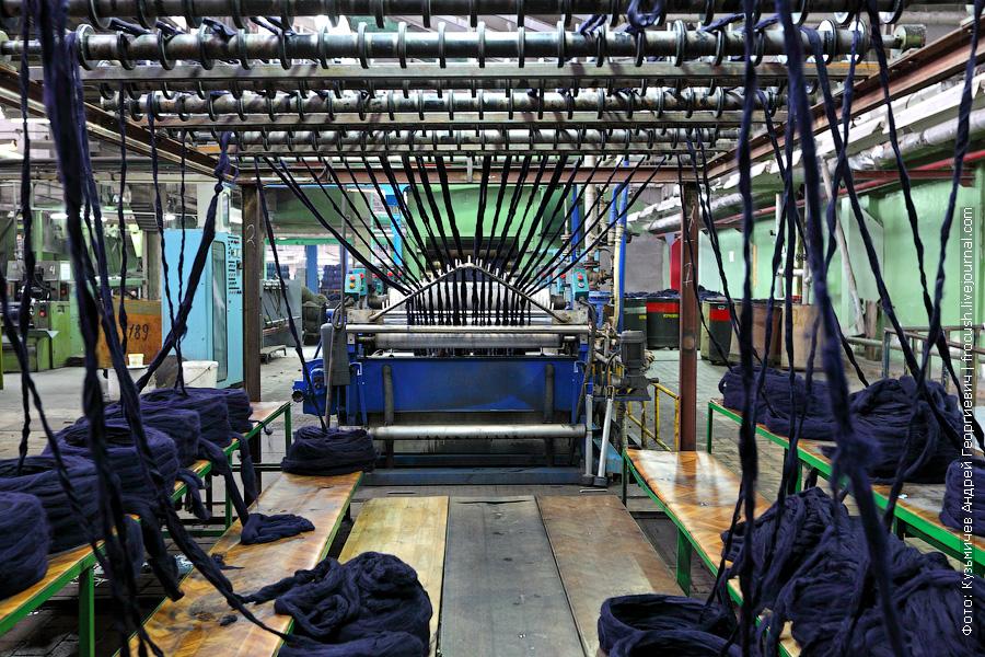 ровничная машина на шерстяном производстве