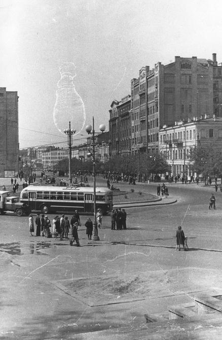 1947.07.03. Площадь Сталина (ныне Европейская площадь)