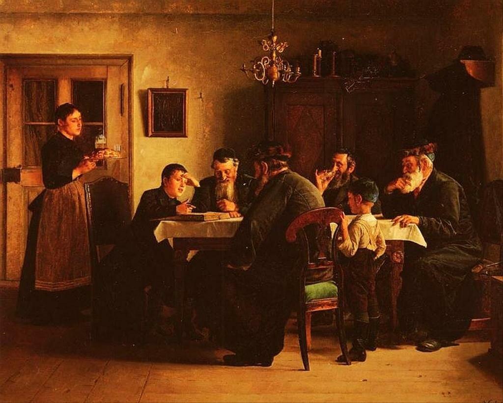 Обсуждение талмуда. Кауфман Исидор(1853–1921)