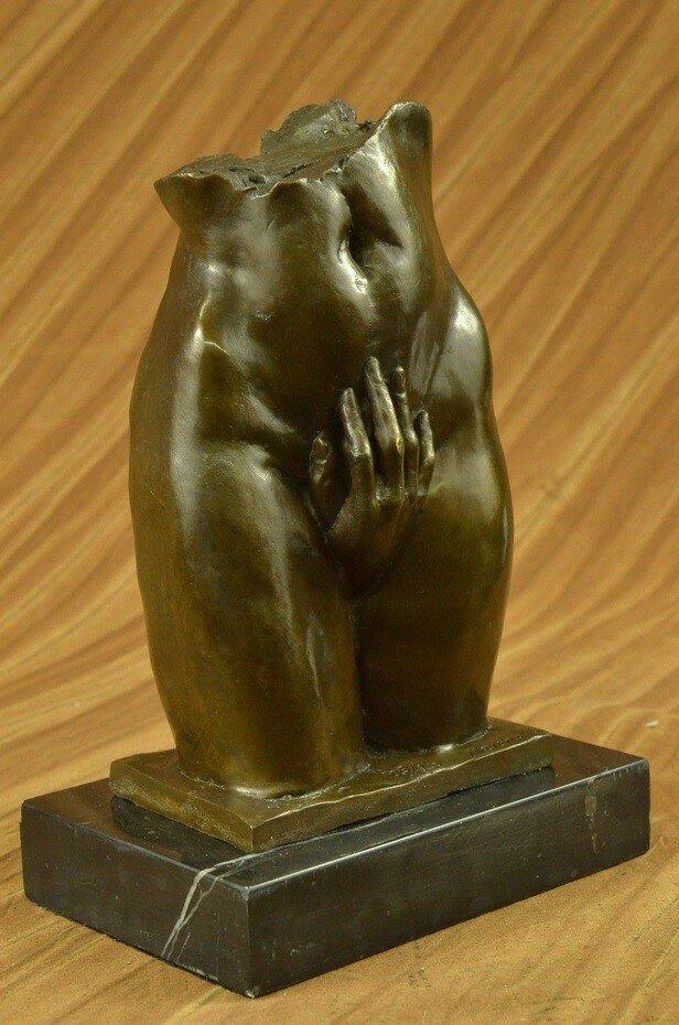 Rare Franz Bergman Bronze Candlestick Holder