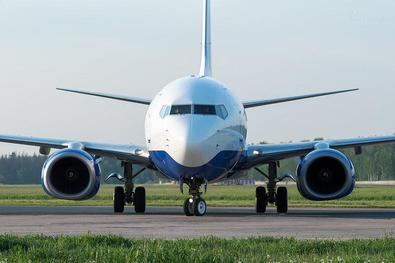 Boeing 737-7Q8 (EI-EUX) Трансаэро DSC0636