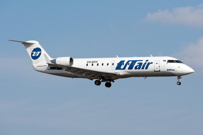 Bombardier CRJ-200LR (VQ-BGV) ЮТэйр DSC_9673
