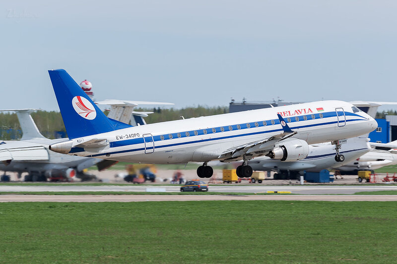 Embraer 170-200LR (EW-340PO) Белавиа D800338