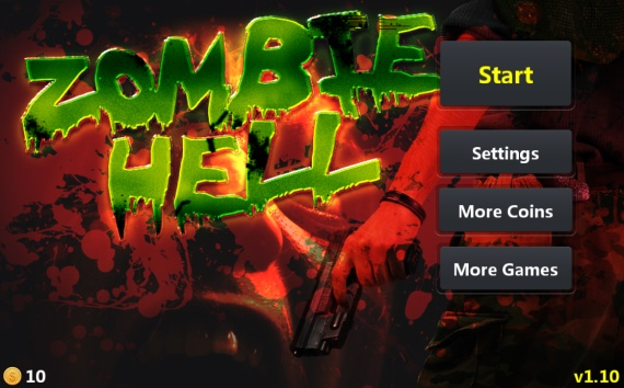 Zombie Hell - Съемки игры для Android