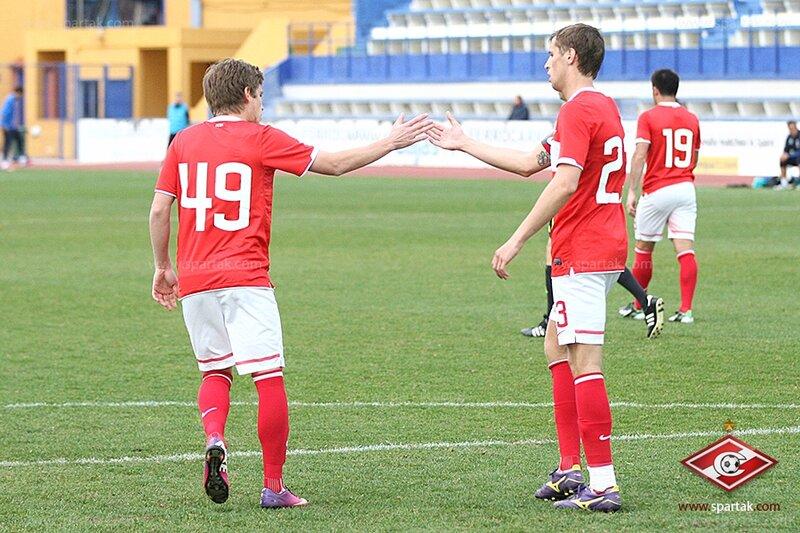 «Спартак» vs «Днепр» 2:0 контрольный матч 2013 (Фото)