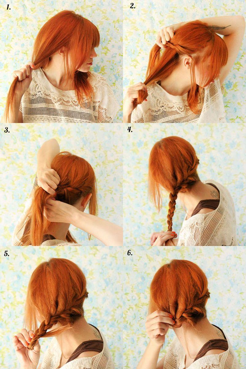 Причёска японская своими руками фото 784