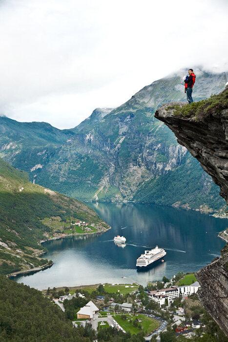 Фотографии Гейрангер фьорда в Норвегии
