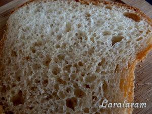 Ломоть домашнего шведского хлеба