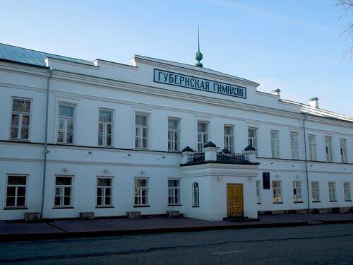 Здание-пристрой ныне действующей Губернской гимназии, построенное в 19 в..