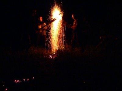 Ночной фейерверк