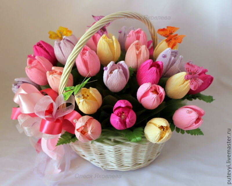 Конфеты букеты цветы