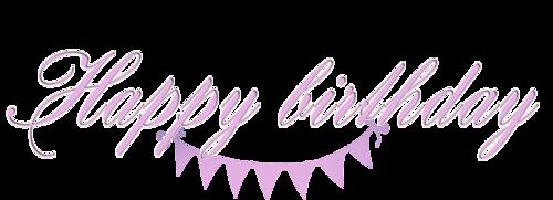 Текст с днем рождения happy birthday