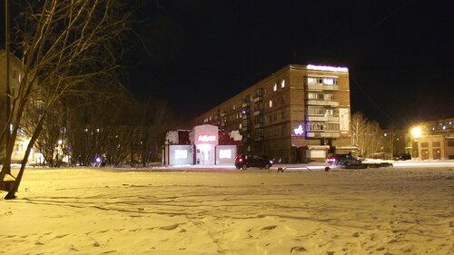 Фото города Инта №2322  Воркутинская 12а и 12 26.12.2012_20:20