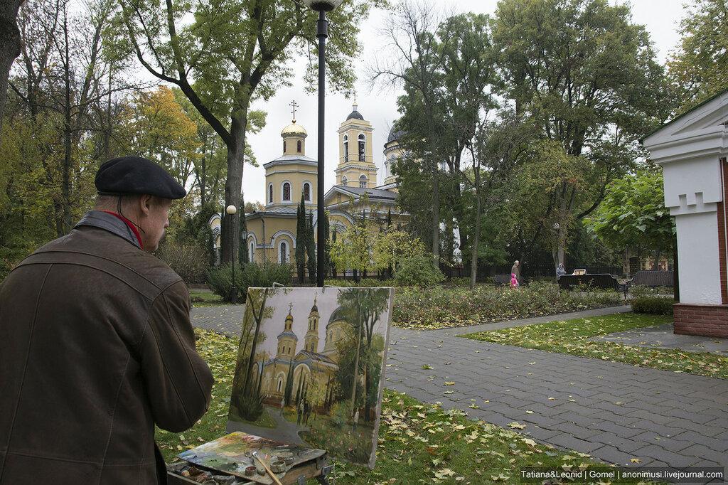 Художник Виктор Барабанцев в Гомеле