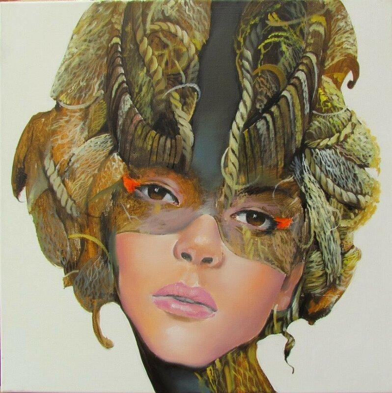 Ирландский художник Андрюс Ковелинас (Andrius Kovelinas). Мы очень часто носим маски, меняем множество ролей...