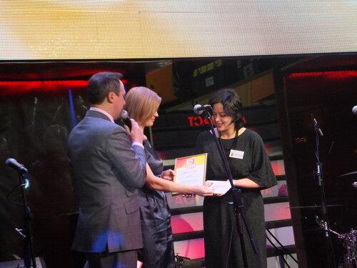 Награждение лауреатов конкурса ТРК