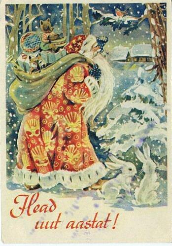 Поздравление к рождеству на эстонском языке
