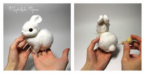 Как быстро сделать кролика 484