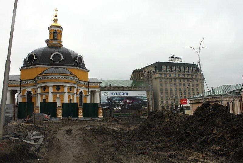 Почтовая площадь в апреле 2013