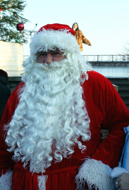 Дед Мороз на Певческом поле