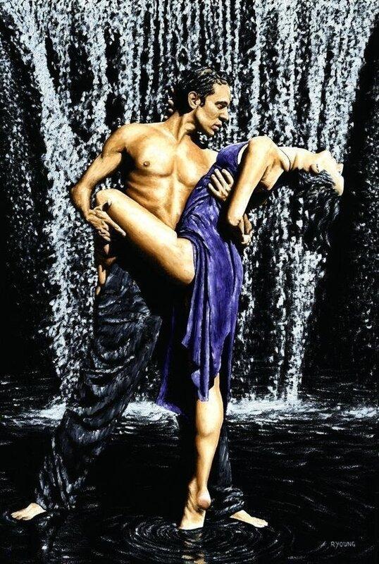 Мы танцуем в странном танце...Художник Richard Young