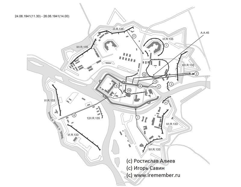 Линия блокады Восточного форта