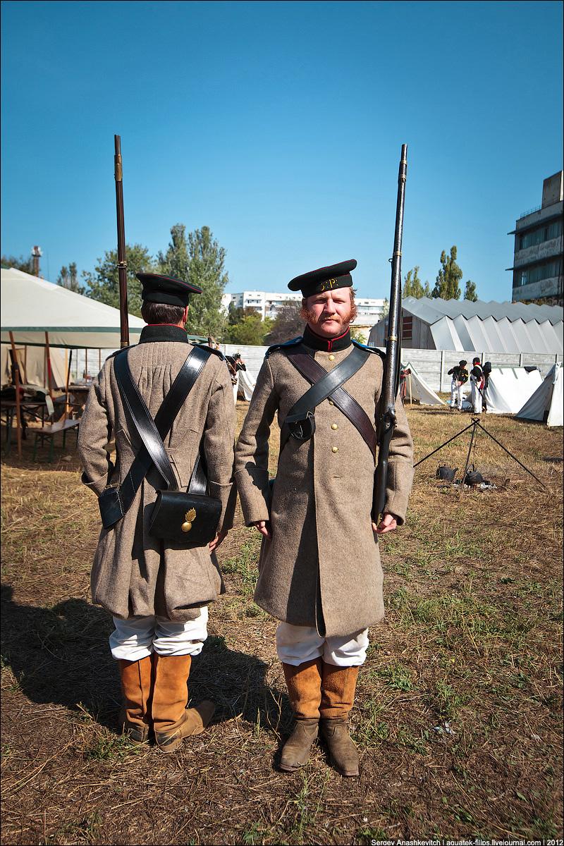 Егерь русской армии времен Крымской войны