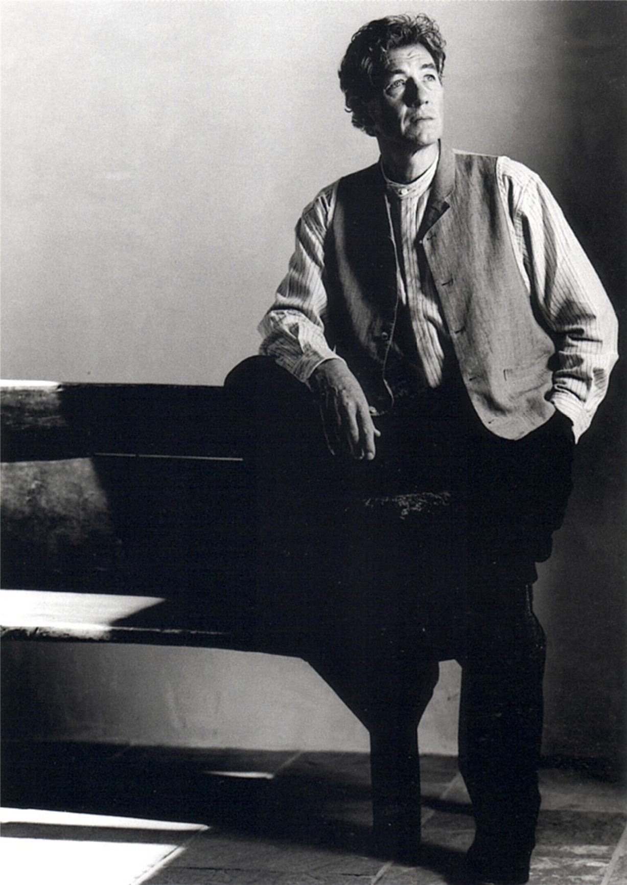 Ian McKellan / Иэн МакКеллен - портрет фотографа Грега Гормана / Greg Gorman