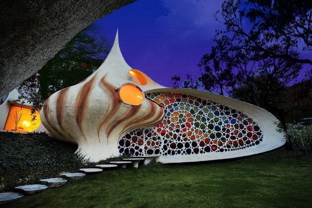 Дом Наутилус (Nautilus House). Мехико